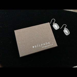 Silpada Sterling Silver Hammered Earrings